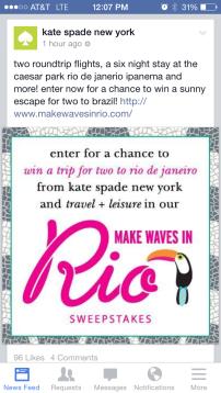 Rio Kate Spade
