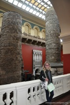 The Victoria Albert Museum was HUGE!! Enjoyed all of the exhibits!