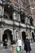 Castle Entrance - cannot get more extravagant!